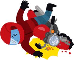 バイク(二輪車)の事故